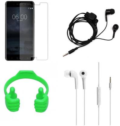 Mudshi Screen Protector Accessory Combo for Nokia 2