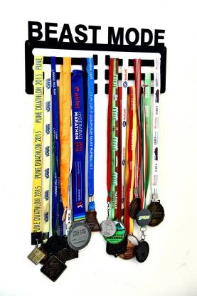 "Fitizen Beast Mode Triple Loop 18"" Medal Hanger Medal"
