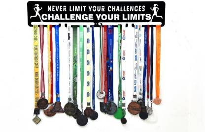 "Fitizen Never Limit Your Challenges..Challenge your Limit 30"" Medal Hanger Medal"