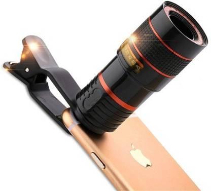 Universal 8X Zoom Adjustable Holder Mobile Phone Lens