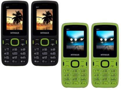 MYMAX M41 Combo of Four Mobiles