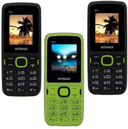 MYMAX M41 Combo of Three Mobiles