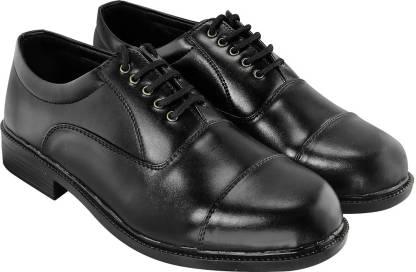 Blinder Men's Black Oxford Lace Up For Men
