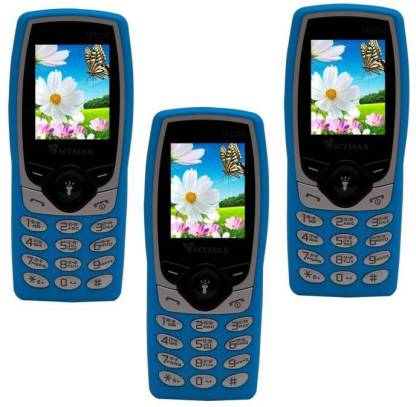 MYMAX M8250 Combo of Three Mobiles