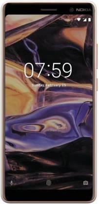 Nokia 7 Plus (White & Copper, 64 GB)