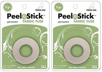 Therm O Web PeelnStick Fabric Fuse Tape 5//8 Inch x 20 Feet 3346