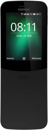 Nokia 8110 (Black, 4 GB)