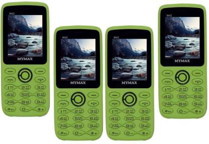 MYMAX M42 Combo of Four Mobiles