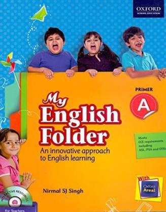 My English Folder Coursebook Primer A: Primary