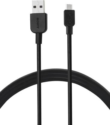 Sony CP-AB100/BCEWW USB-A to Micro USB 1m 1 m Micro USB Cable  (Compatible with All Phones With Micro USB Port