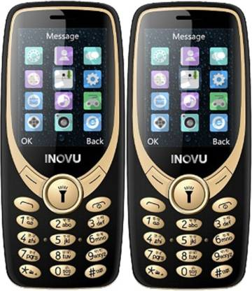 INOVU A9 Combo of Two Mobiles