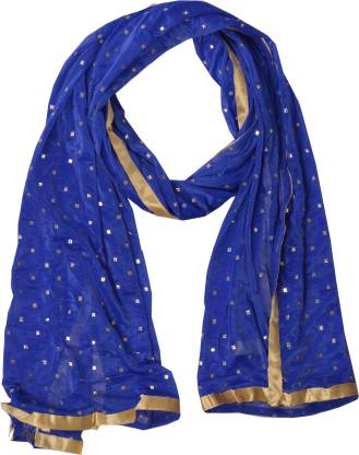 YOUTHQUAKE Lycra Blend Printed Women Dupatta