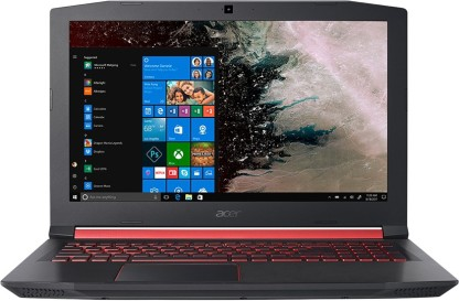 Acer Nitro 5 Core i5 8th Gen - (8 GB + 16 GB Optane/1 TB HDD/Windows 10 Home/4 GB Graphics) AN515-52-593F Gaming Laptop (15.6 inch, Shale Black, 2.7 kg)