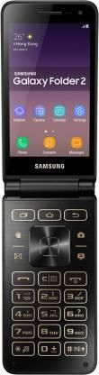 SAMSUNG Galaxy Folder 2 (Black, 16 GB)
