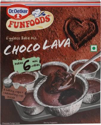 FUN FOODS Choco Lava Eggless Bake Mix 320 g