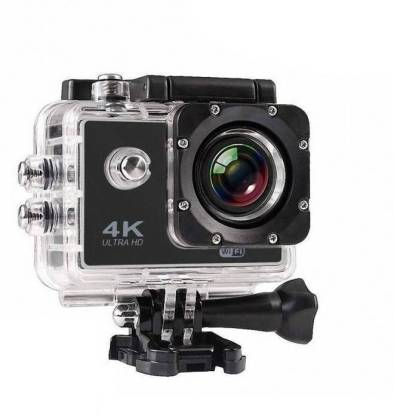 ALONZO Action Camera 4K Sports Action Camera Portable Package,12MP Ultra HD 30M Waterproof DV Camcorder 2 Inch LCD Screen, 170 Degree Wide Angle Sports and Action Camera