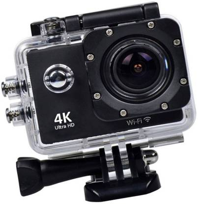 ALONZO Wifi Camera 4K Sports Action Camera Ultra HD Waterproof DV Camcorder 16MP 170 Degree Wide Angle Sports and Action Camera
