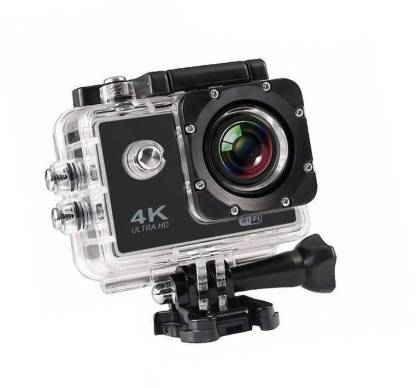 ALONZO Action Camera 4k action camera Sports and Action CameraTARVIK 4K Ultra HD 12 MP WiFi Waterproof Digital 4K Action & Sports-1 Body Only Sports & Action Camera Sports and Action Camera