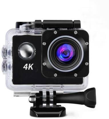 """ALONZO 4K Action Camera 4K Action Cam Waterproof Sport Camera Diving Ultra HD 16MP 40M 170°Adjustable Wide Angle Lens 2"""" LCD Display with Sony Sensor with Rechargeable Batteries and Waterproof Sports and Action Camera"""