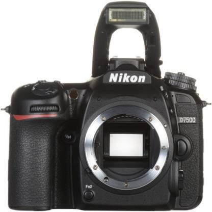 NIKON DX NIKON D7500 DSLR Camera (Body only) (16 GB SD Card + Camera Bag)