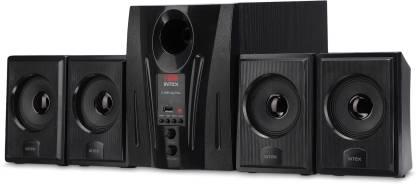 Intex IT 2655 60 W Laptop/Desktop Speaker Black, 4.1 Channel