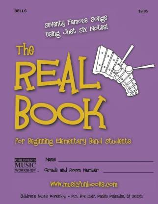 The Real Book for Beginning Elementary Band Students (Bells)