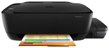 HP ink tank wireless 415 All in one Multi-function WiFi Color Printer with Voice Activated Printing Google Assistant and Alexa