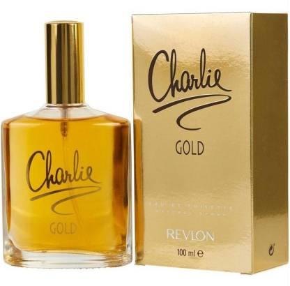CHARLIE Gold Revlon Eau de Toilette  -  100 ml