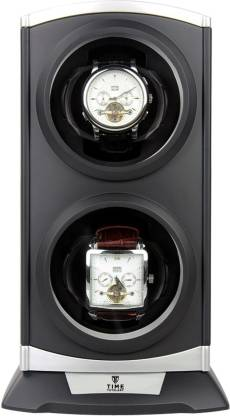 Time Tutelary KA015-BLK Programmable 5 Watch Winder
