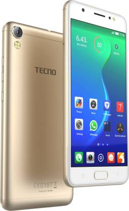 Tecno i3 PRO (Gold, 16 GB)