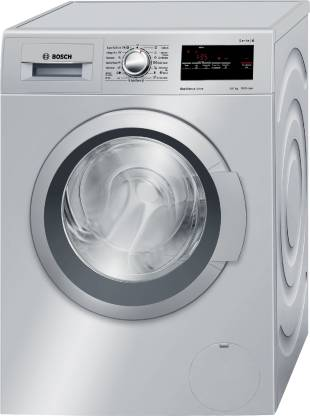 Bosch 8 kg Fully Automatic Front Load with In-built Heater Silver
