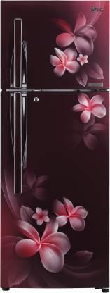 LG 284 L Frost Free Double Door 3 Star Convertible Refrigerator