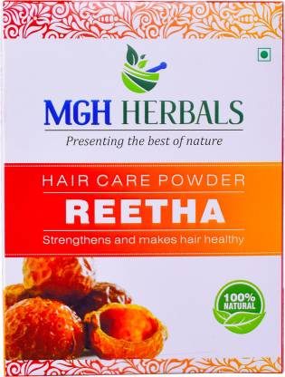 MGH Herbals Premium Quality Reetha Powder 100gm