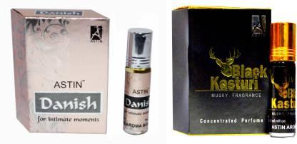 ASTIN Danish and Black Kasturi UAE Edition Perfume  -  12 ml