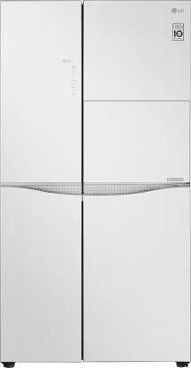 LG 675 L Frost Free Side by Side Refrigerator  with with Door Cooling and Smart ThinQ(WiFi Enabled)