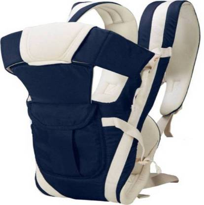 NCY 4 in 1 Baby Carrier Bag (Navy Blue, Front carry facing out) Baby Carrier
