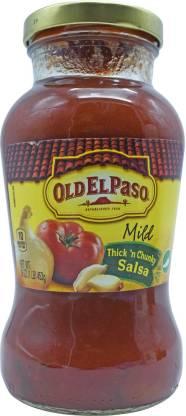 Old ELPaso Mild Thick n Chunky Salsa - 453g (16oz) Salsa