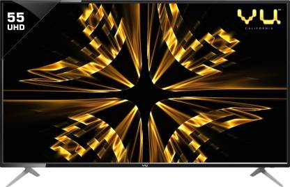 Vu Iconium 140 cm (55 inch) Ultra HD (4K) LED Smart TV