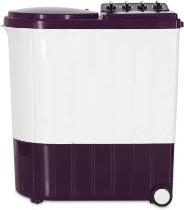 Whirlpool 8.5 kg Semi Automatic Top Load Purple, White