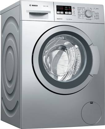 Bosch 7 kg ExpressWash Fully Automatic Front Load with In-built Heater Silver