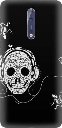 MotivateBox India Back Cover for Nokia 8