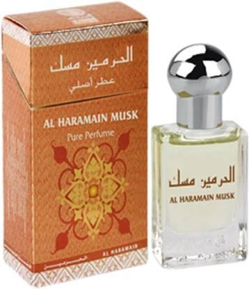 KIVALO Al Haramain Pure Original Musk Perfume Oil (Attar) - 15 ml Floral Attar