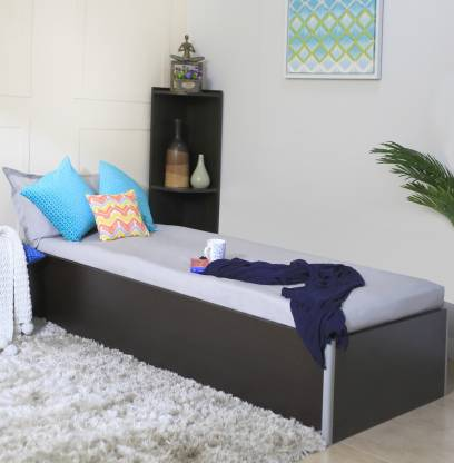 SPACEWOOD Engineered Wood Single Box Bed