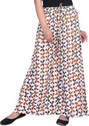 Aawari Regular Fit Women Multicolor Trousers