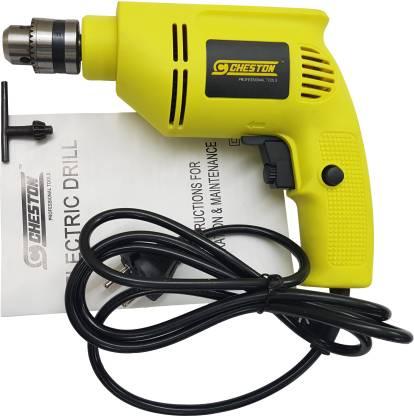 CHESTON 10mm Reversible Drill Machine CHD-6104 Pistol Grip Drill