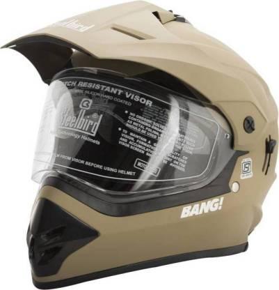 Steelbird BANG Motorbike Helmet
