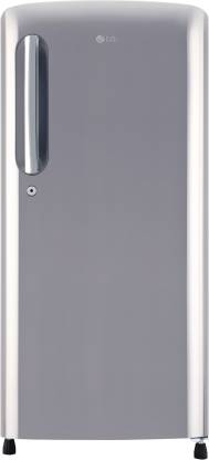 LG 190 L Direct Cool Single Door 4 Star (2020) Refrigerator  (Shiny Steel, GL-B201APZY)