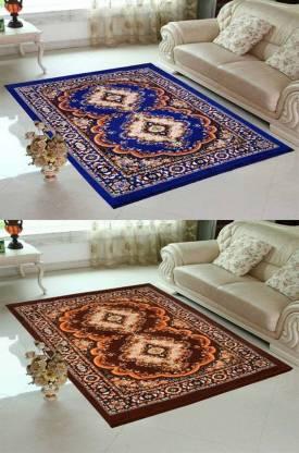 Kihome Multicolor Jute Carpet