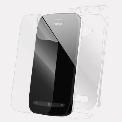 Snooky Front and Back Screen Guard for Nokia lumia 710