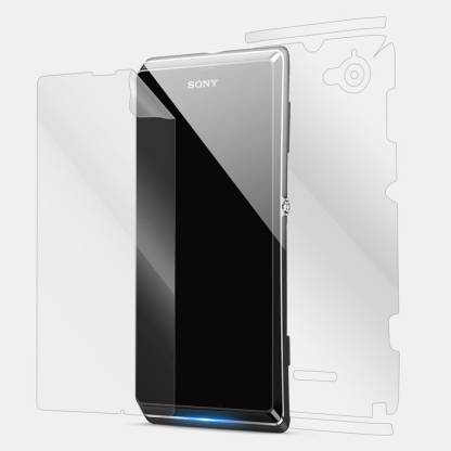 Snooky Front and Back Screen Guard for Sony Xperia L